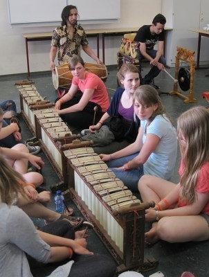 gamelan workshop maxmusic